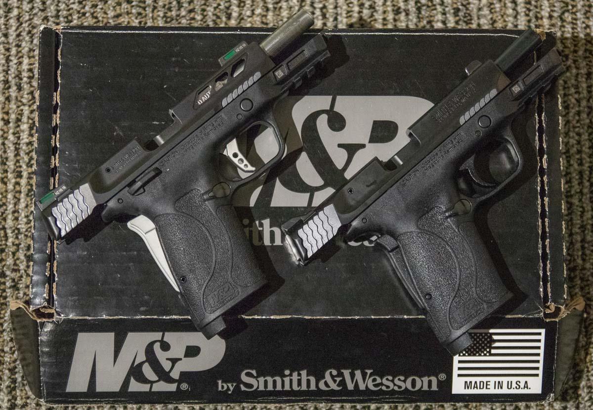 Comparing the Performance Center MP380 EZ Pistol 380 ACP