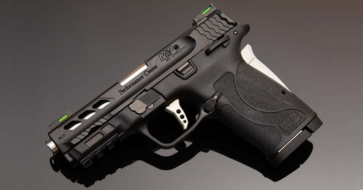 Feature Image Smith and Wesson Performance Center MP380 EZ Review