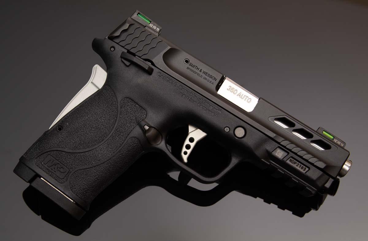 S&W Performance Center M&P380 EZ Shield Review 380 ACP Pistol