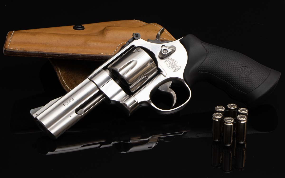 Smith & Wesson Model 610 review 10mm revolver