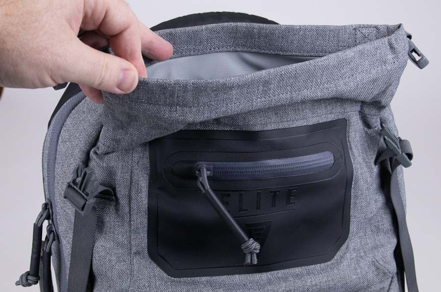 Dry Bag Compartment on Elite Survival Systems SBR Rifle Backpack Review