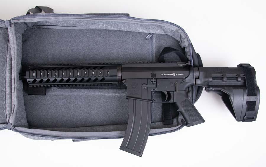 Pistol Wont Fit in SBR Backpack