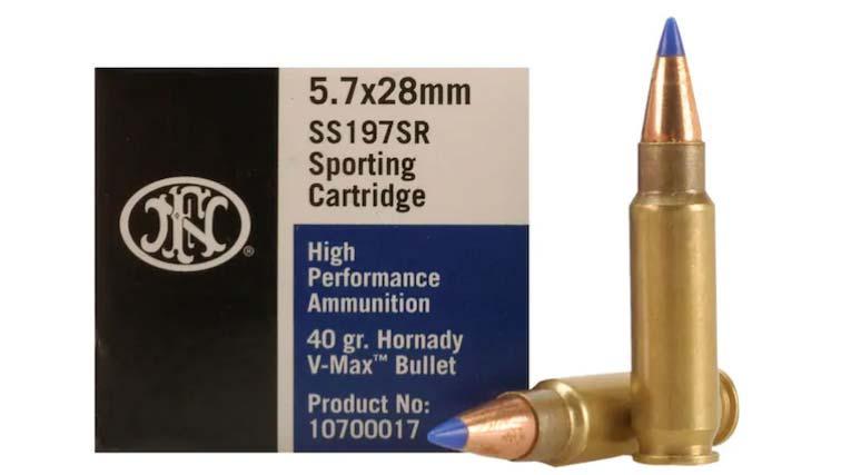 5.7x28 Ammunition for Ruger-57
