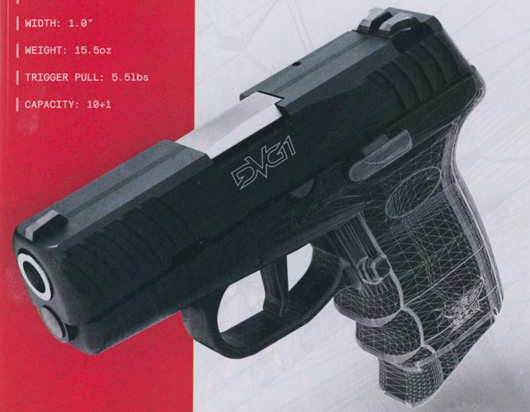 SCCY DVG1 at the SHOT Show