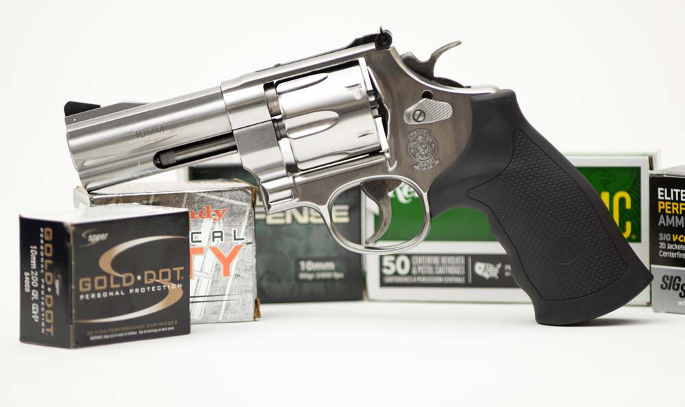 Smith and Wesson 610 Review with Ammo