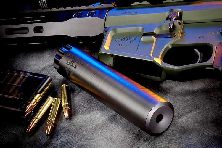 Wilson Combat Quell Titanium Rifle Suppressor