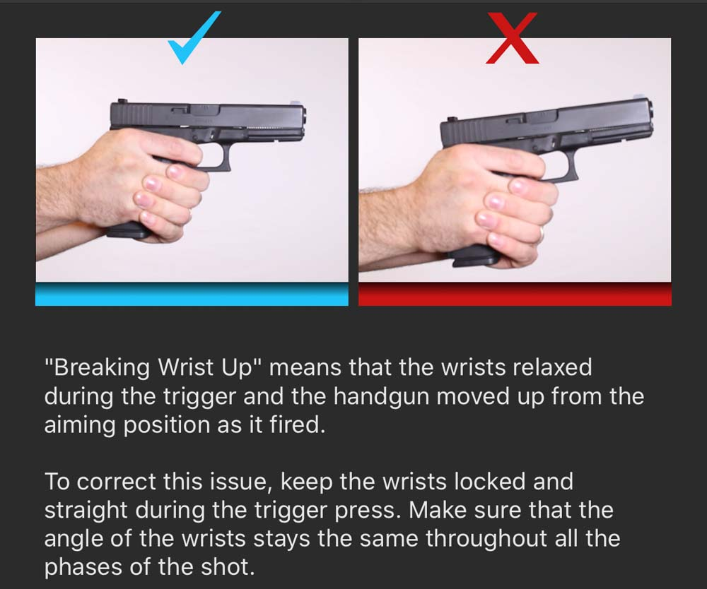 Breaking Wrists Up Correction
