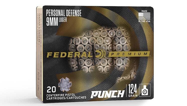 Federal Punch Self Defense Ammunition at SHOT Show