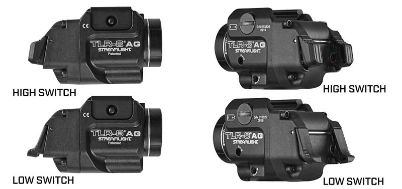 Streamlight TLR-8 A and G Weaponlight