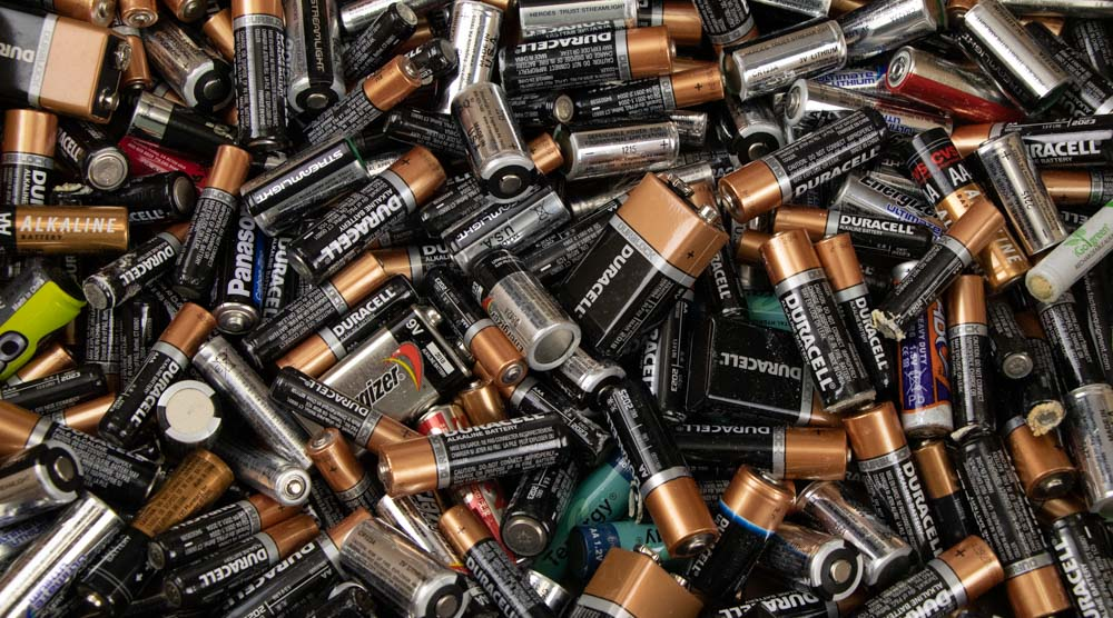 Batteries Used for Flashlight Testing
