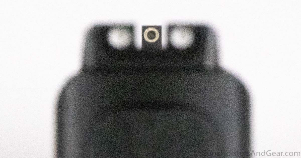 S&W SD40 sights