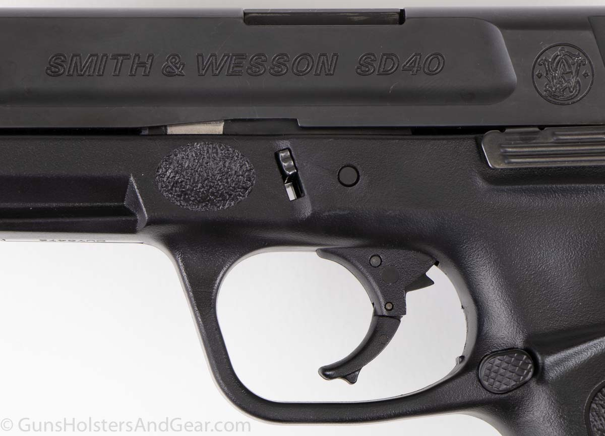 Smith and Wesson SD40 pistol review