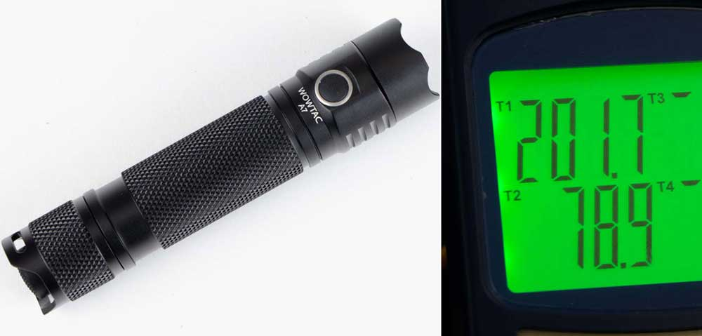 Wowtac A7 Flashlight Review