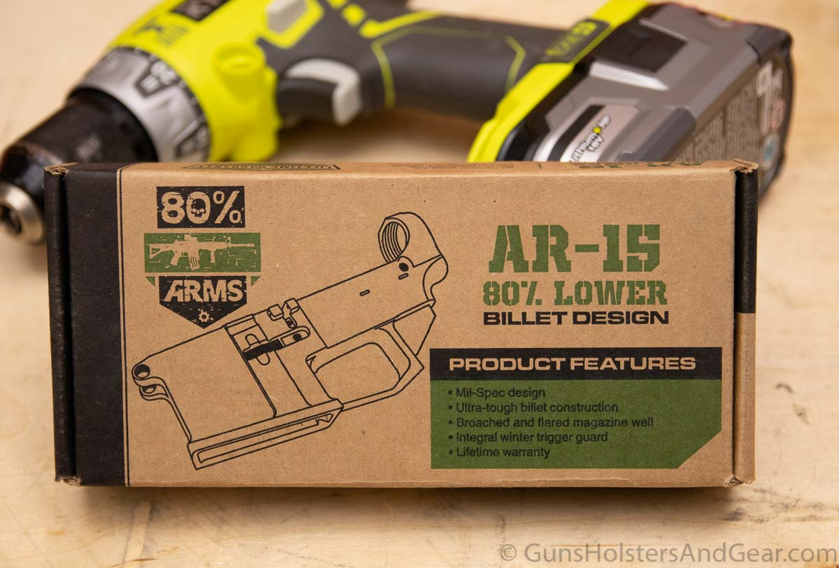 80 Percent Arms AR15 Lower