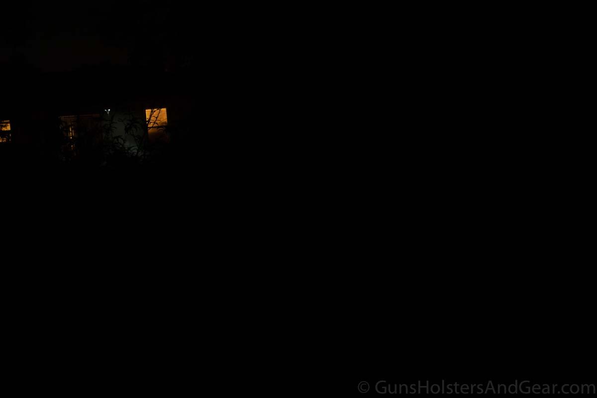 Fenix LD15R Flashlight at 7 yards - control shot