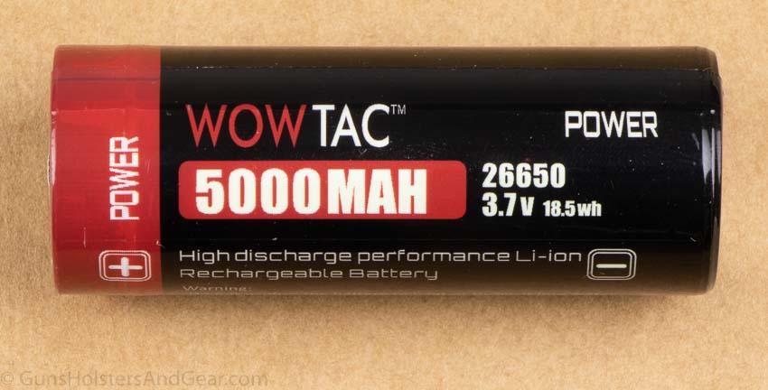 Wowtac 26650 Battery