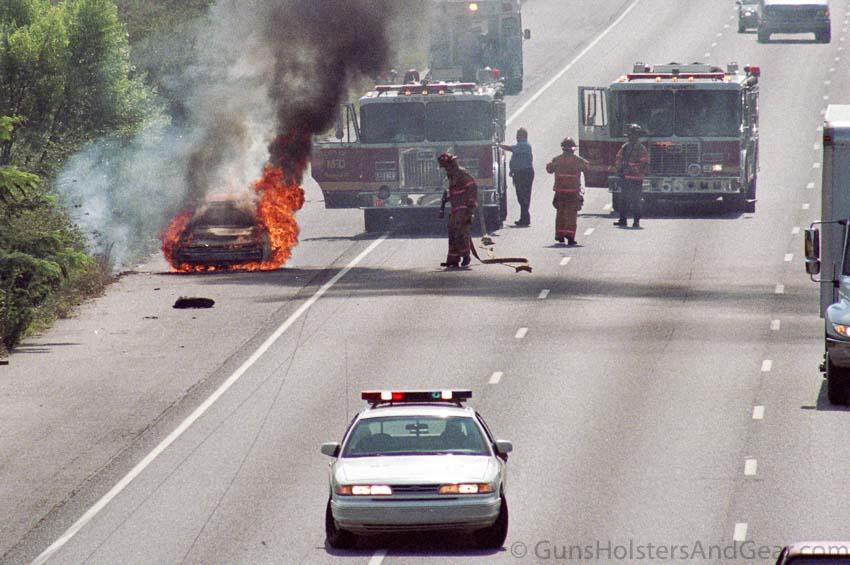 Atlanta Car Fire