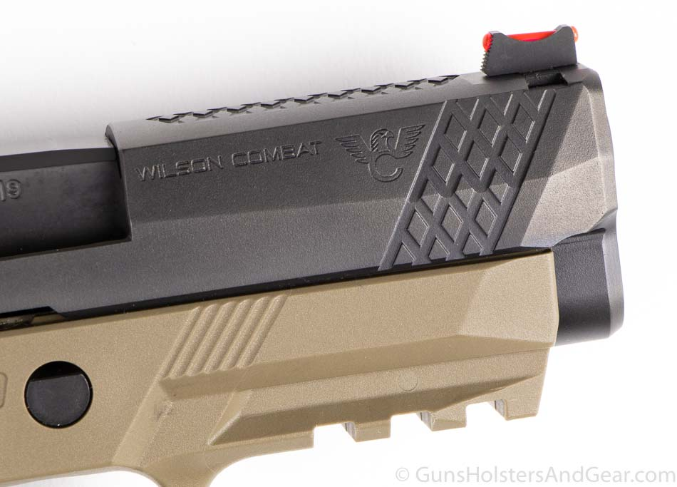 Front Slide Serrations and Sight