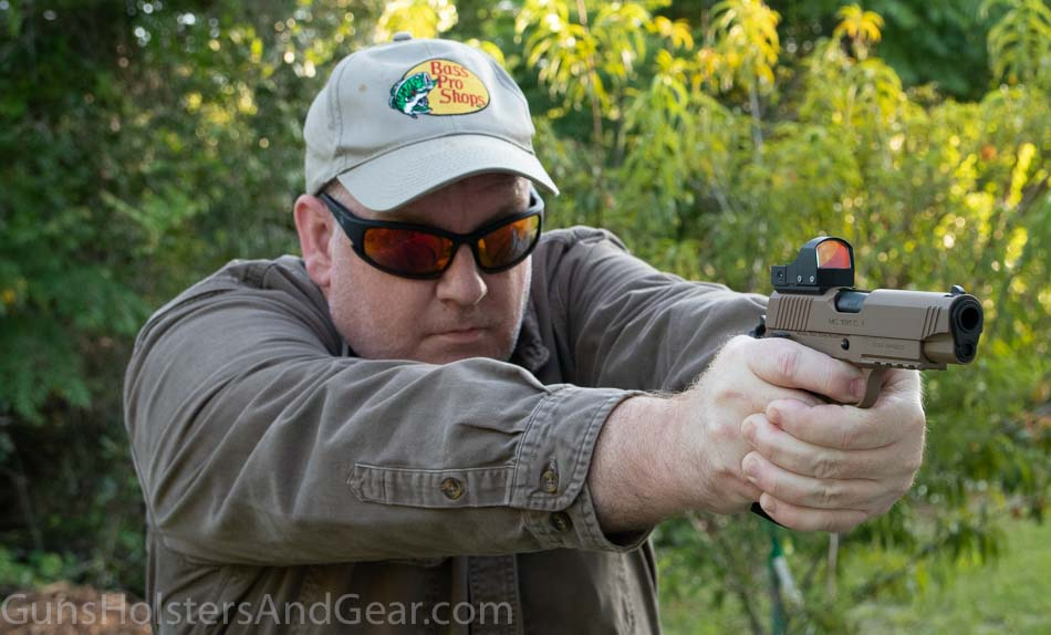 Shooting the Girsan MC1911 handgun in 45 ACP