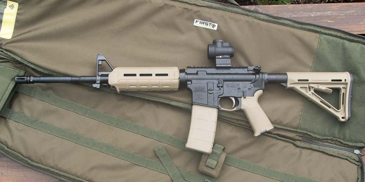 PSA AR-15 FDE review rifle