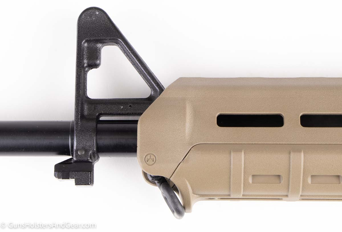 front end of Magpul MOE hand guard with sling attachment