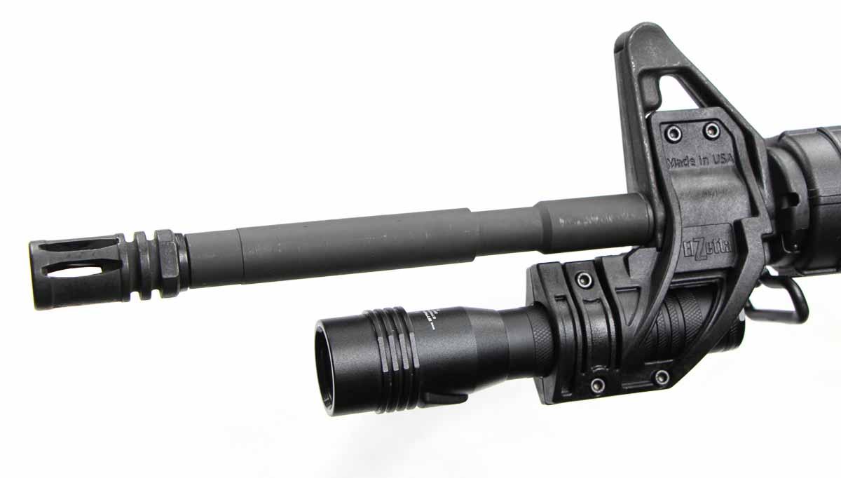 Elzetta flashlight attachment review
