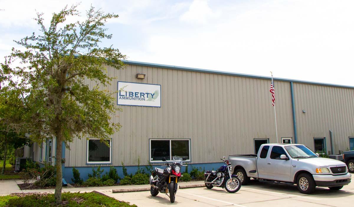 Liberty Ammunition Factory Tour Front