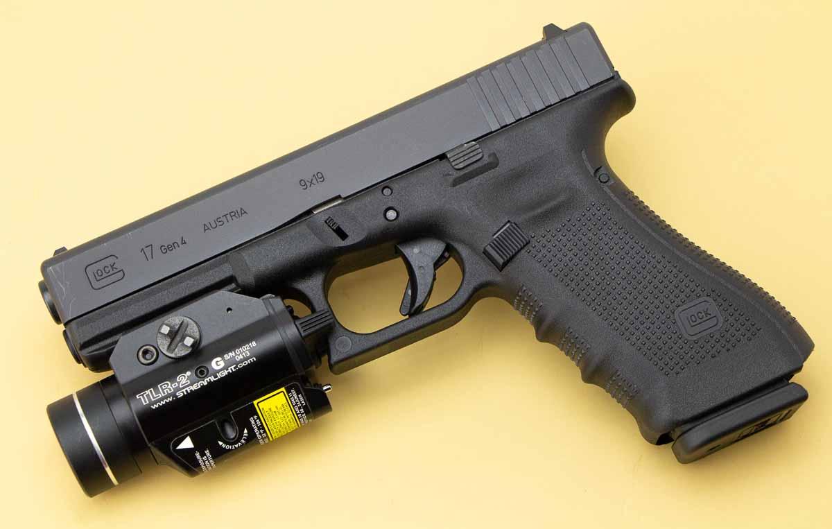 Streamlight green laser for Glock 17 9mm