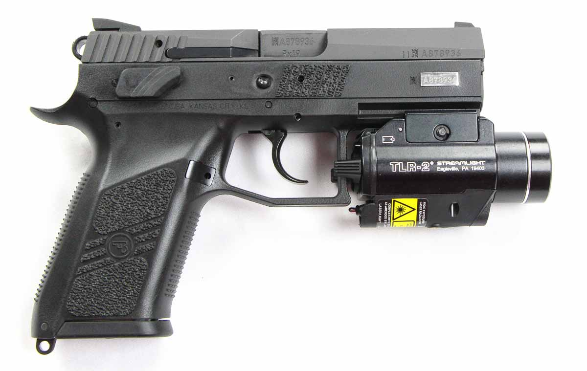 TLR-2 fitted to a CZ P-07