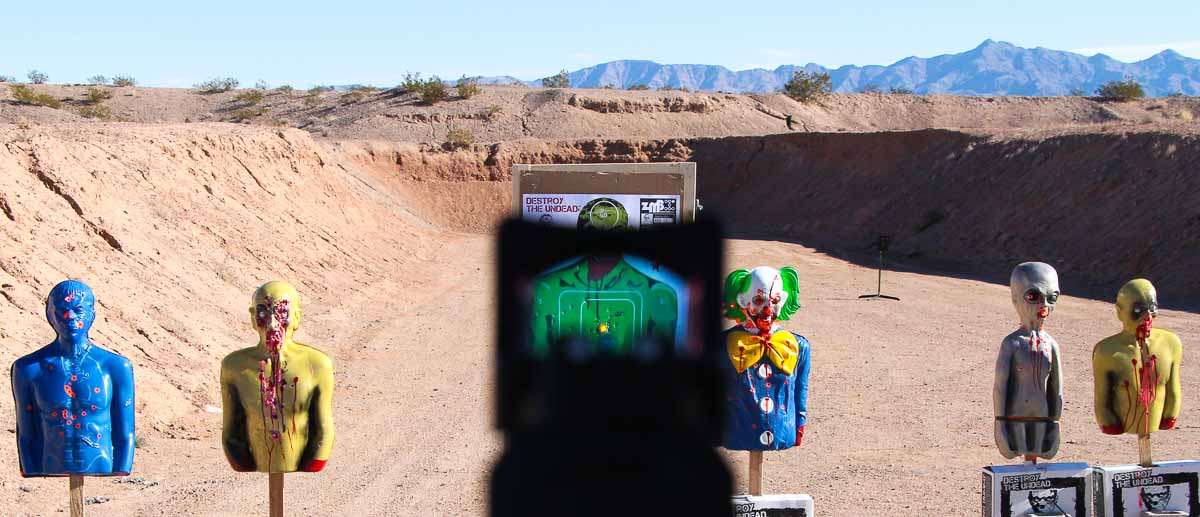M&P CORE 9mm review at the range