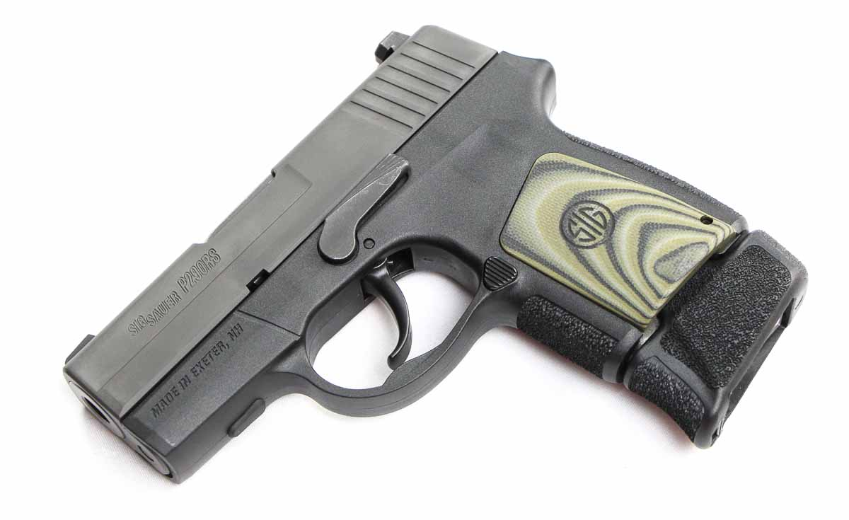 P290 with extended magazine inserted