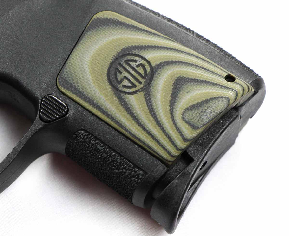 SIP P290 grip panel in G10 laminate