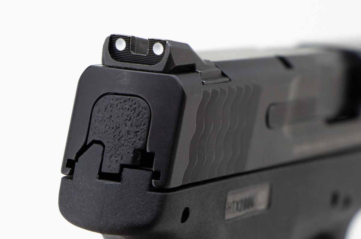 Shield rear sights