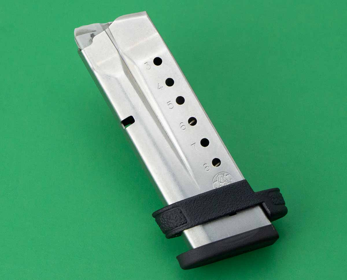 Smith and Wesson Shield extended 9mm magazine