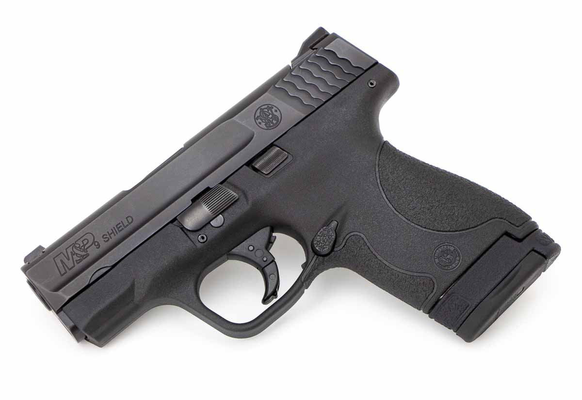 Smith and Wesson Shield without a thumb safety