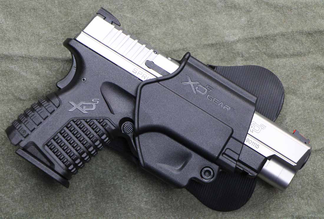 XDS 4.0 9mm with factory holster