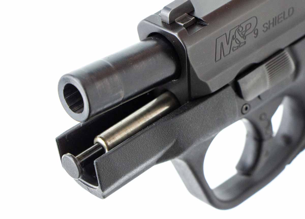 barrel and recoil spring assembly in smith wesson shield review