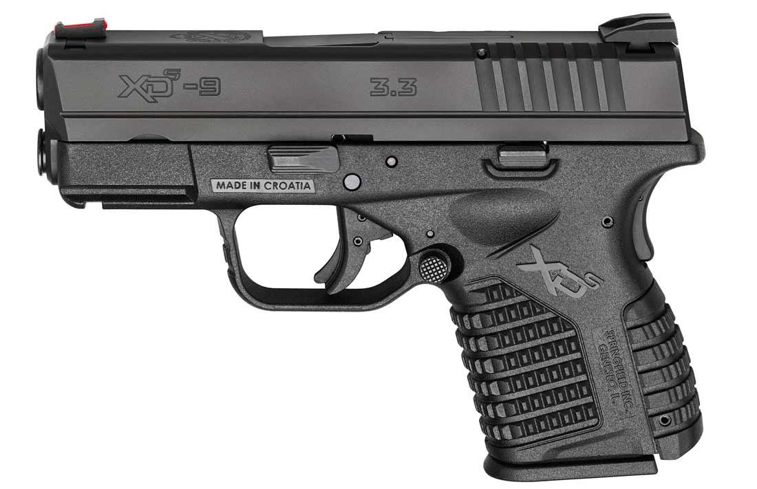 evalutating the XD-S pistol