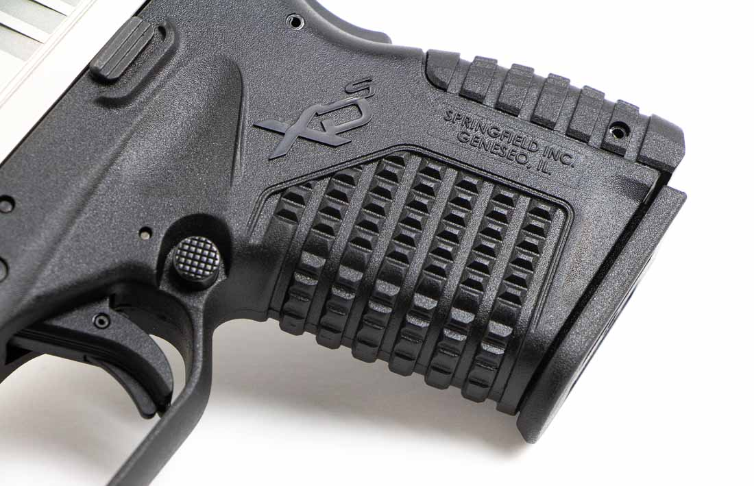 grip texture on the 4 inch xds