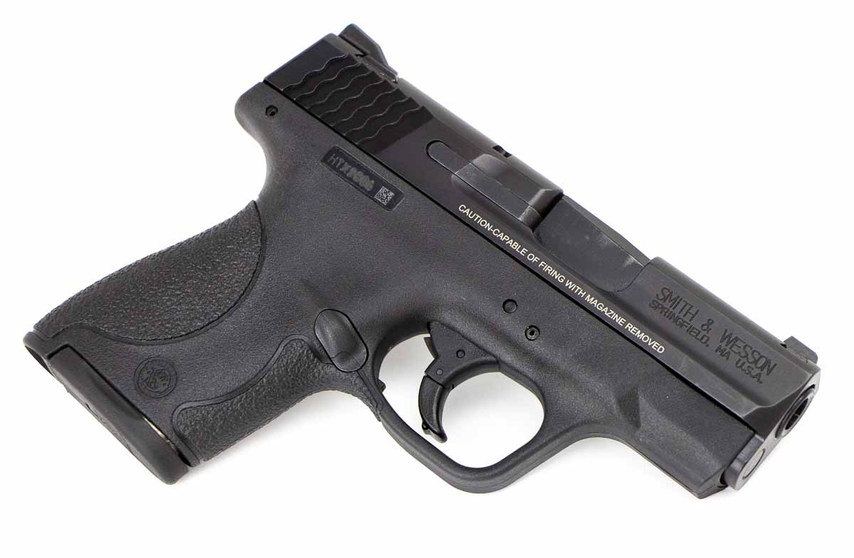 right side view of the smith and wesson 9mm shield
