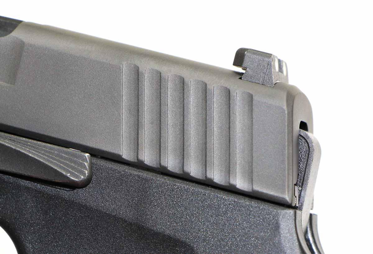 sig sauer P290 rear sight