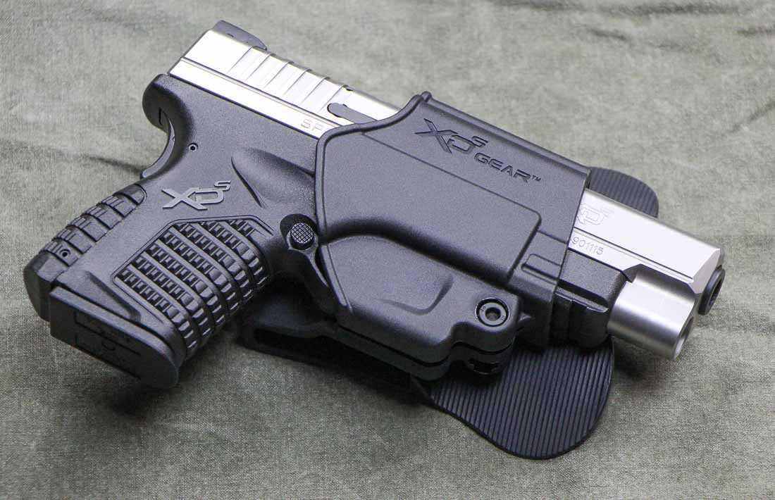 springfield armory xd-s 4.0 with included paddle holster