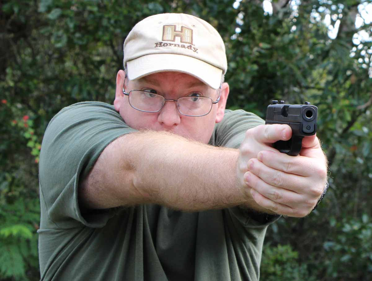 test firing the SIG P290 RS Extreme