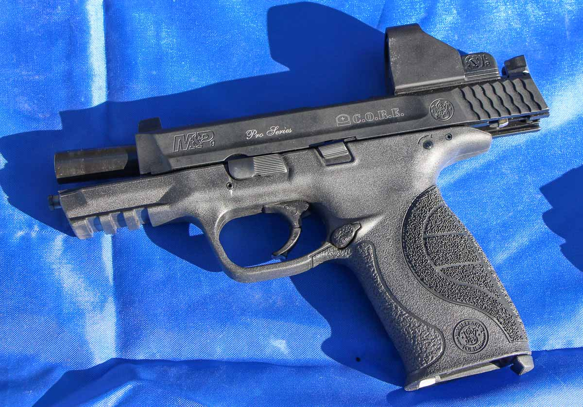 the CORE Pro pistol tested