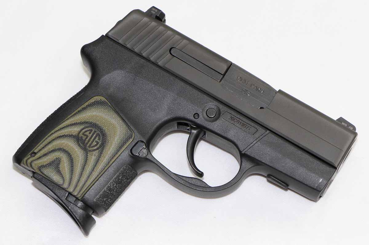 the sig P290 used in this review