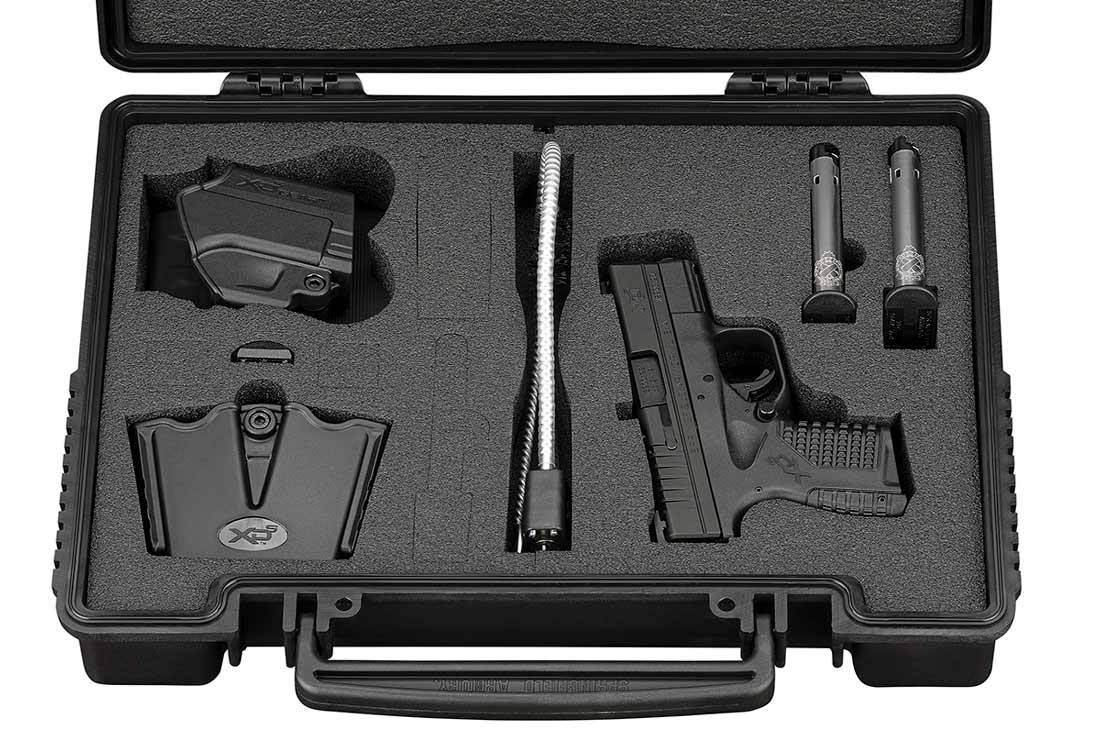 whats included with the springfield xds