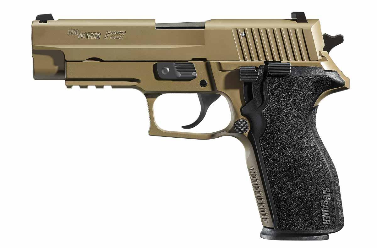 SIG SAUER P227 in FDE