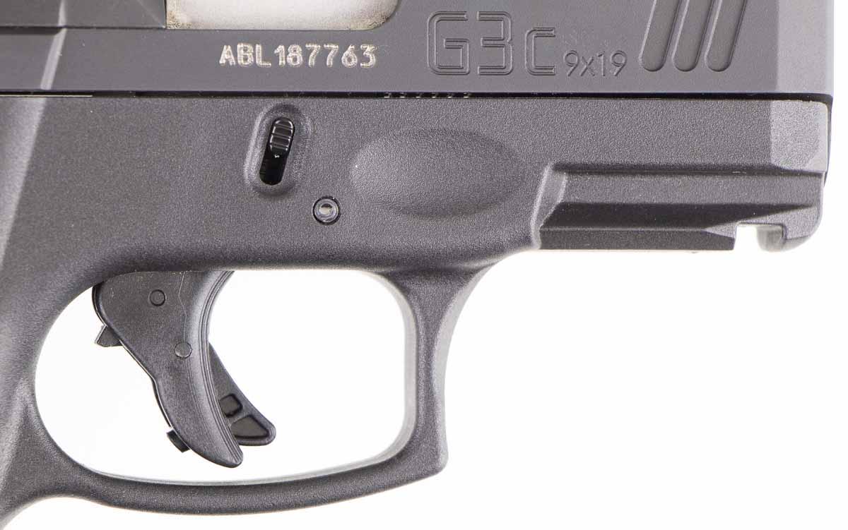 Taurus G3c trigger detail