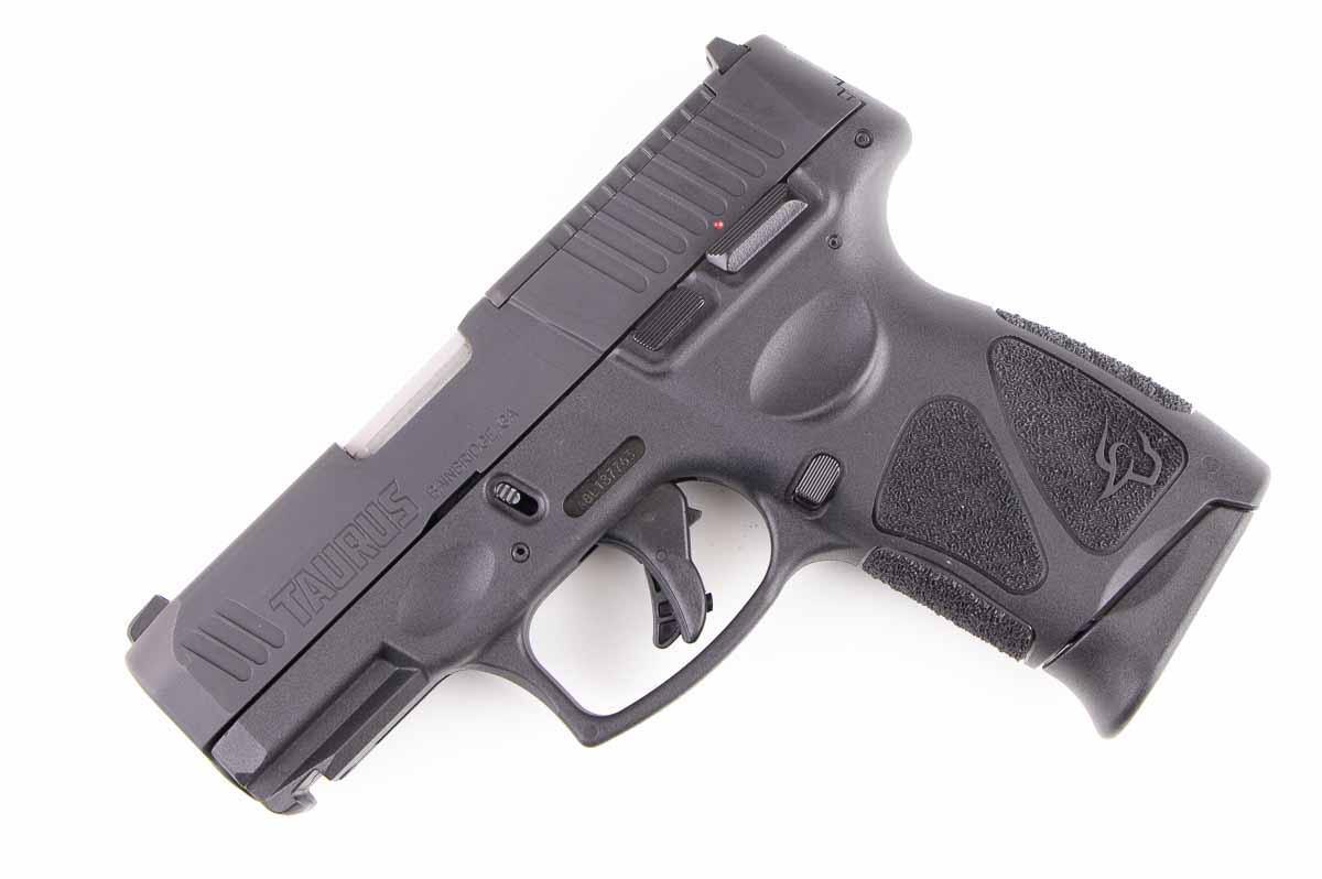 left side view of the Taurus G3c TORO 9mm pistol